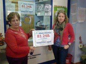 Boleto de la Primitiva sellado en Herencia premiado con 81.248 euros 3