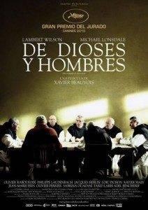 De dioses y hombres 212x300 - Cine solidario por la Campaña Contra el Hambre