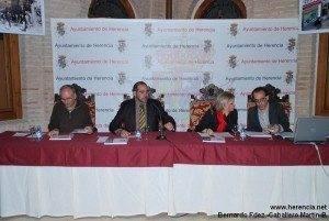 """Las II Jornadas del Centro de Estudios Herencianos comenzaron con la presentación del libro """"Herencia de nuestras calles"""" 6"""