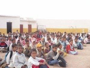 Cuatro herencianos realizan actividades de cooperación en el Sahara 3