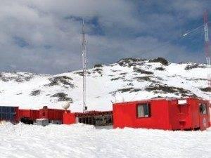 Vista Base Española en la Antártida
