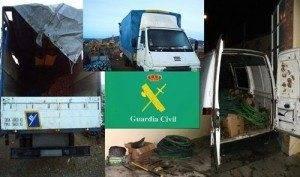 Detenidas cuatro personas por robo de cable en Herencia y Puerto Lápice 1