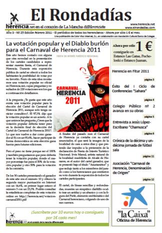 El Rondadías 25 de febrero 2011 ya disponible 3