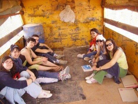 sahara 069 465x348 - Cuatro herencianos realizan actividades de cooperación en el Sahara