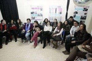 Asistentes a la conferencia_Y el Sahara Qué Foto_Tomas Fdez de Moya Diario Tribuna CR