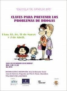 Abierto plazo para taller de prevención de drogas 3