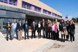 La consejera de Educación, Ciencia y Cultura, María Ángeles García, visitó Herencia 5
