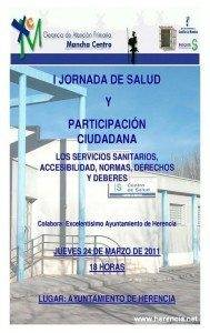 Poster Jornada de Salud Herencia