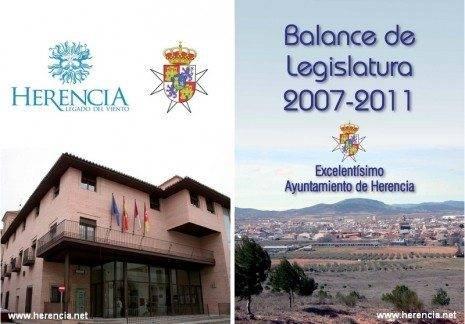 herenciabalance2007 2011 465x324 - El Ayuntamiento hace balance de su legislatura