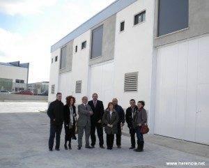 herenciainauguraviveroa 300x241 - El Subdelegado del Gobierno inaugura el Vivero de Empresas de Herencia