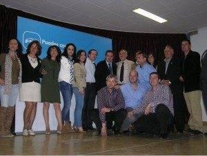El Partido Popular de Herencia presentó ayer su candidatura a las elecciones municipales 1
