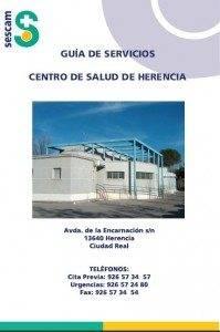 Portada Guia Servicios Centro Salud Herencia 199x300 - El Centro de Salud de Herencia publica su Guía de Servicios