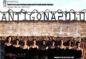 Antigona 2010 será representada en Herencia por Entremedias 1