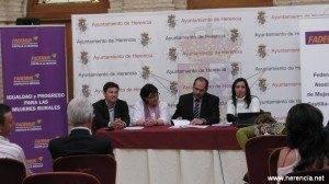 herenciajornadasfademur 300x168 - Herencia acogió la jornada de Fomento del Empleo y autoempleo en el medio rural de CLM