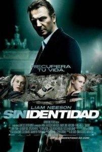 Cartel película sin identidad