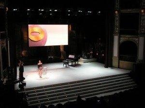 Escenografía de la Gala de entrega de los Premios Max de Teatro 2011 3