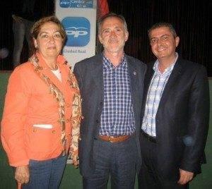 Guilermo López-Bravo durante un acto de campaña