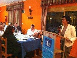 La candidatura socialista de Herencia cena con el tejido empresarial de la localidad 1