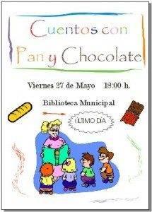 """Pan y Chocolate 215x300 - Este viernes finaliza """"Cuentos con pan y chocolate"""""""