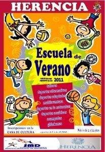 cartel actividades de verano 207x300 - Todo preparado para la Escuela de Verano 2011