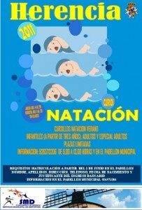 cartel natacion 2011 203x300 - En junio se abre el periodo de inscripción para los Cursillos de Natación