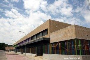 Las obras del nuevo colegio público nº 2 de Herencia llegan a su fin 1