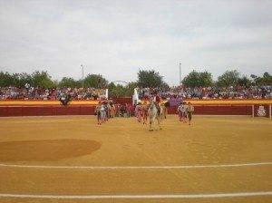plaza toros herencia 300x224 - La peña taurina anillo 2008 celebra su tradicional comida campera anual