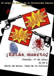 Bang Bang, estás muerto. Teatro para todos los públicos 1