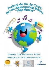 Concierto fin de curso 2011 escuela de m%C3%BAsica de Herencia 212x300 - Festival fin de curso de la Escuela Municipal de Música.