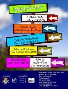Talleres de verano para jóvenes en Herencia