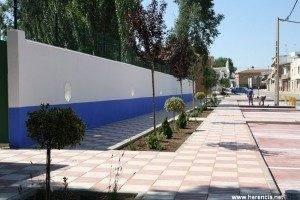 herencia remodelacción accesos piscina y entrada localidad