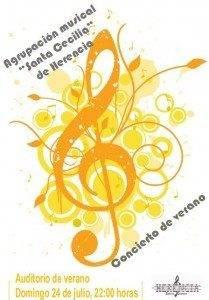 Concierto de verano de la Agrupación Musical Santa Cecilia de Herencia 1