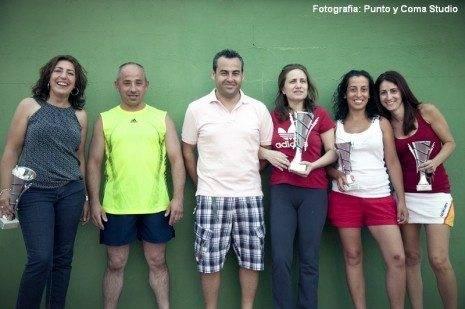 Ganadoras I Liga de Padel Femenino de Herencia