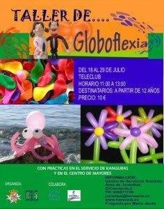 Globoflexia 236x300 - El área de Juventud prepara un Taller de Globoflexia