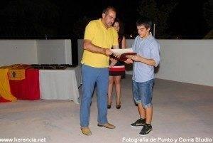 Herencia gala del deporte alcalde y sergio romero 300x201 - Celebrada la X Gala del Deporte de Herencia