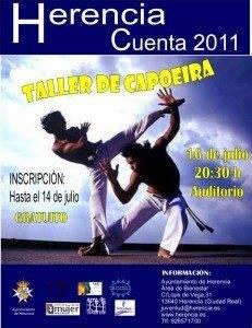 cartel Capoeira 231x300 - Taller de Capoeira