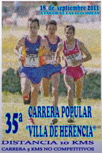 35 carrera popular villa de herencia 2011
