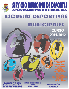 Herencia Ciudad Real Escuelas deportivas 2011 2012 233x300 - Abierto plazo de inscripción para Escuelas Deportivas 2011-2012