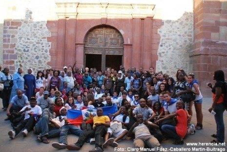 JMJ haití 465x311 - El pueblo de Herencia se vuelca con Haití