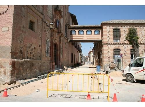 calle convento peatonal en Herencia