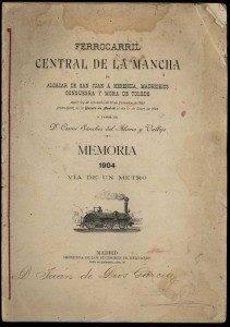 Donación al archivo municipal de un antiguo documento sobre el ferrocarril en Herencia 1