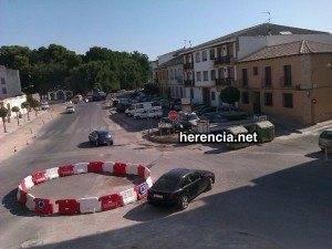 Rotondas de la Plaza de la Libertad. Nota de prensa oficial del Ayuntamiento 1