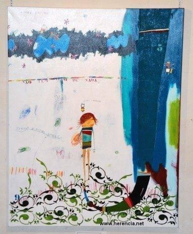 1%C2%BA premio Rui Gomes Pereira 383x465 - Obras ganadoras del XXIX Certamen Nacional de Pintura Villa de Herencia