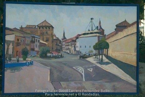 2 premio V certamen pintura rapida jose higueras de Herencia Ciudad Real.jpg 465x311 - Fallo del V Certamen de Pintura Rápida 2011