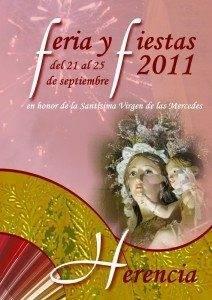 2011 cartel Feria de la Merced 212x300 - Rafael Garrigós será el pregonero de las Ferias y Fiestas 2011