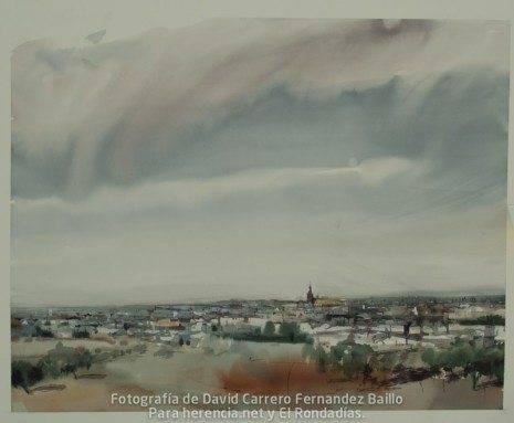 3 premio V certamen pintura rapida jose higueras de Herencia Ciudad Real.jpg 465x383 - Fallo del V Certamen de Pintura Rápida 2011