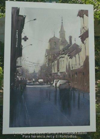 """4º Premio - V Certamen de Pintura Rápida """"José Higueras"""""""