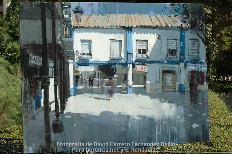 6 premio V certamen pintura rapida jose higueras de Herencia Ciudad Real.jpg - Preservando nuestro patrimonio, edificio del casino