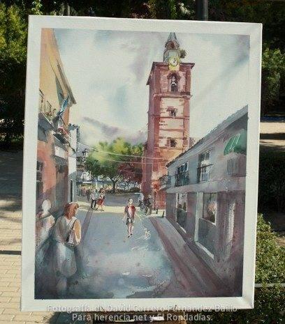 7 premio V certamen pintura rapida jose higueras de Herencia Ciudad Real.jpg 408x465 - Fallo del V Certamen de Pintura Rápida 2011
