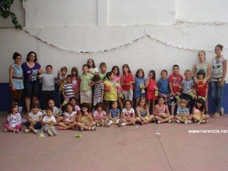 Fiesta fin de curso. Programa Kanguras Herencia 2011